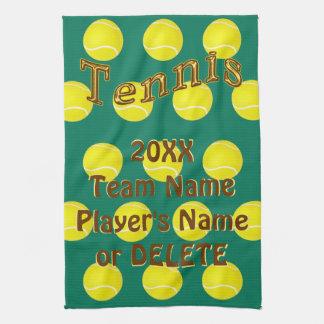 Cadeaux personnalisés de tennis, serviettes faites