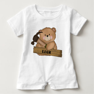 Cadeaux personnalisés par ours du constructeur de barboteuse