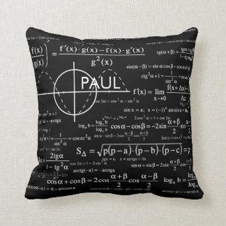 Cadeaux personnalisés pour des physiciens de geeks coussin