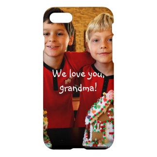 Cadeaux personnalisés pour l'iPhone de grand-maman Coque iPhone 7