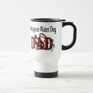 Cadeaux portugais de papa de chien d'eau mug de voyage