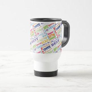 Cadeaux uniques et de Special 100th de fête Mug De Voyage
