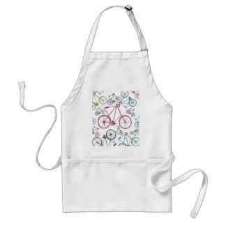 Cadeaux vintages de motif de bicyclette pour des c tablier