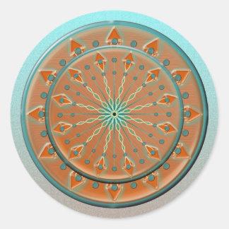 Cadence Stickers-20 de sud-ouest par feuille Sticker Rond