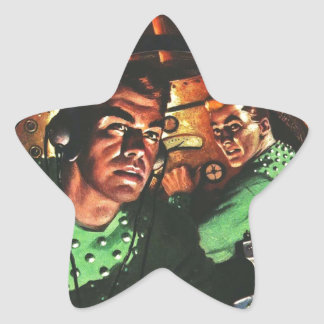 Cadets de l'espace dans petit Rocket Sticker Étoile