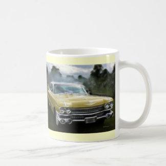 Cadillac jaune mug