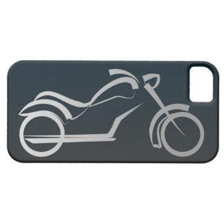 Cadre argenté noir frais de moto