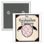 Cadre de photo de diplôme d'obtention du diplôme badge