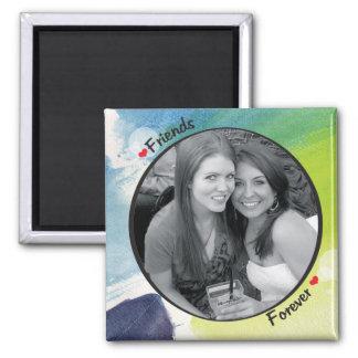 Cadre de photo magnet carré
