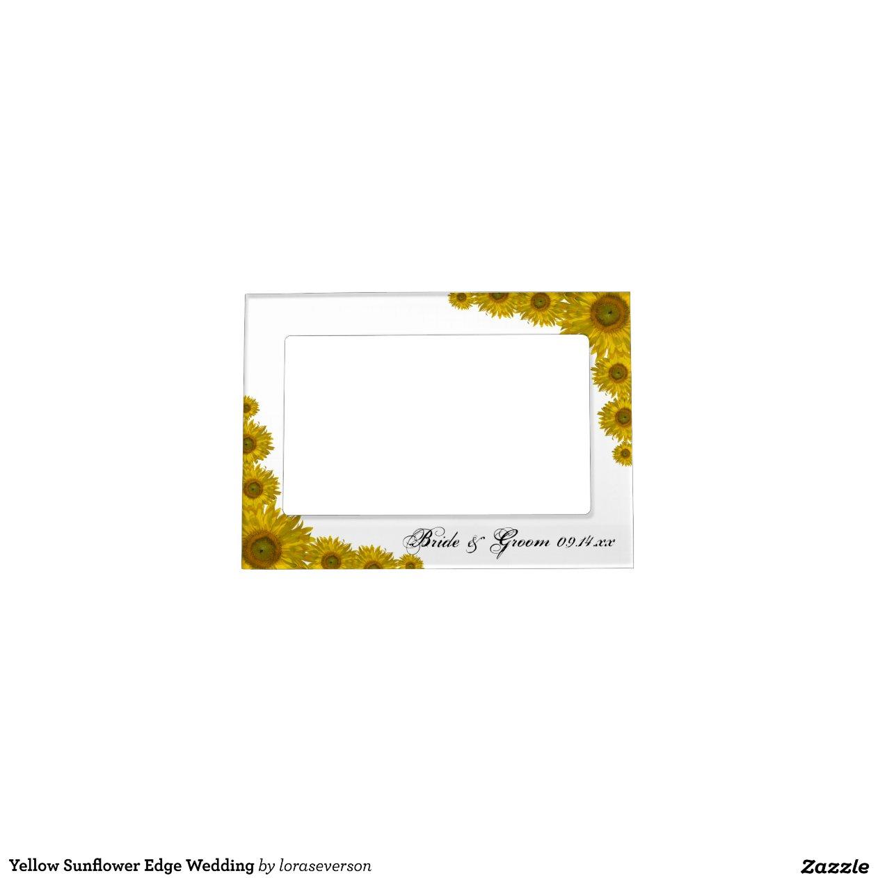 Cadre de tableau jaune de mariage de bord de tourn cadres - Image de cadre de tableau ...