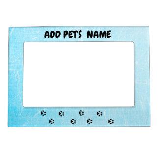 Cadre Magnétique Cadre de tableau bleu personnalisé de chien ou de