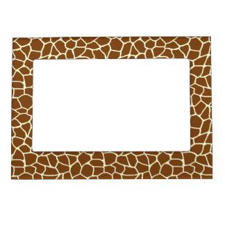 Cadre Magnétique Poster de animal sauvage de motif de girafe