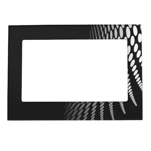 cadre noir et blanc g om trique moderne de photo cadre. Black Bedroom Furniture Sets. Home Design Ideas