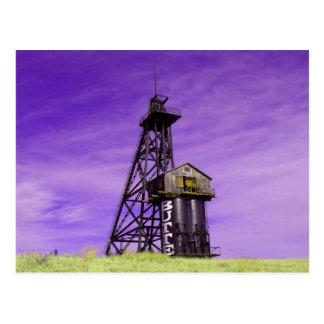 Cadre principal de Travona - butte Montana Carte Postale