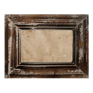 Cadre rustique de Cusomizable Carte Postale