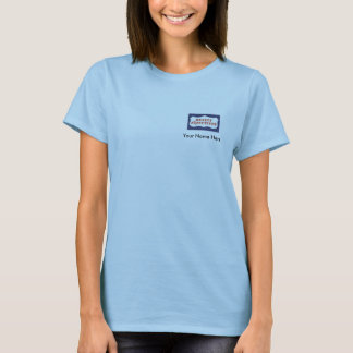 Cadres d'objet immobilier, bébé personnalisé - t-shirt