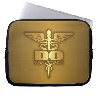 Caducée d'or (FAITES) Trousse Pour Ordinateur Portable
