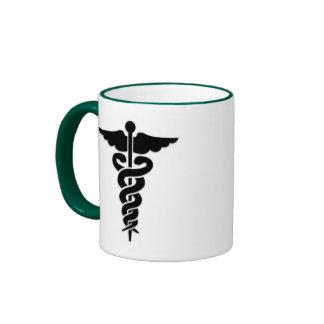 Caducée médical de symbole mugs à café