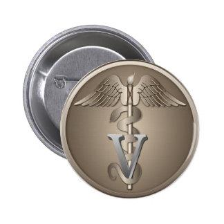 Caducée vétérinaire badges