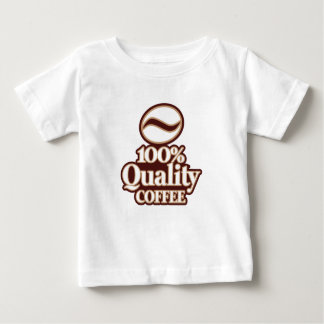 Café 100% de qualité t-shirt pour bébé