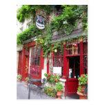 Café à Paris Carte Postale