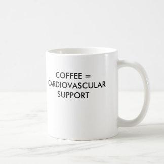 CAFÉ = APPUI CARDIO-VASCULAIRE MUG