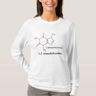 Café, C8H10N4O2H2O, 1,3,7 - trimethylxanthine T-shirt