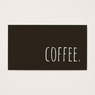 café cartes de visite