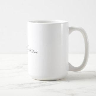 Café ..... c'est fente pour les personnes âgées mug blanc