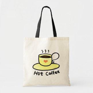 Café chaud sacs en toile