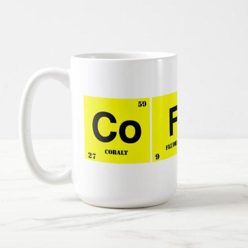 Café chimique mug