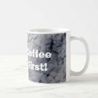 Café d'abord mug