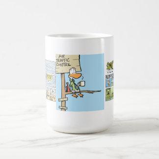Café de contrôle du trafic aérien de marais mug
