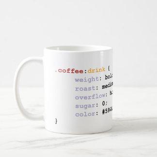 Café de CSS Mug Blanc