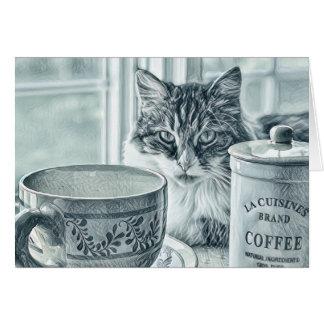 Café de matin -- Cartes de note polyvalentes