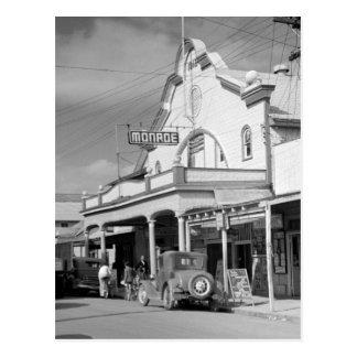 Café de Monroe, Key West, les années 1930 Carte Postale