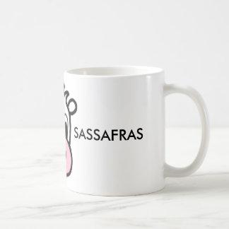 Café de sassafras de framboise/tasse de thé mug