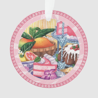Café d'île - dessert de mousseline de soie de