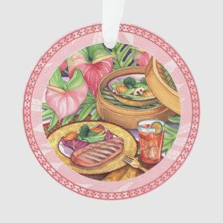 Café d'île - vapeur en bambou