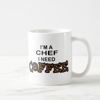 Café du besoin - chef mug