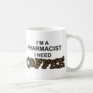 Café du besoin - pharmacien mug