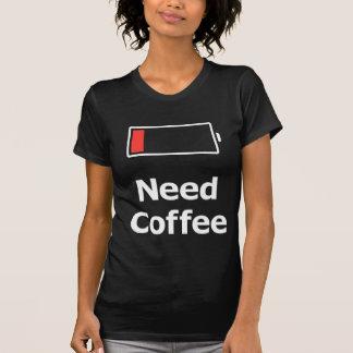 Café du besoin t-shirt