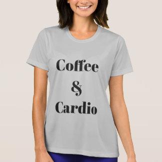 Café et cardio- T-shirt sportif