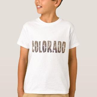 Café et étoiles du Colorado T-shirt
