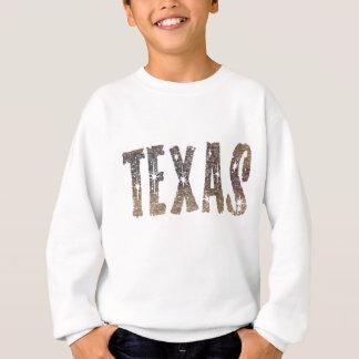 Café et étoiles du Texas Sweatshirt