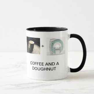 CAFÉ ET UN BEIGNET MUG