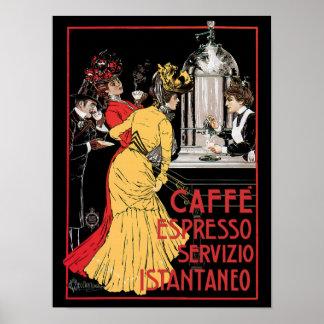 Café express de Caffe Posters