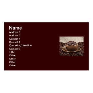 Café extraordinaire modèle de carte de visite