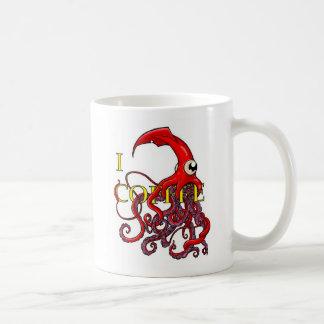 Café I (d'attaque de calmar géant) Mug