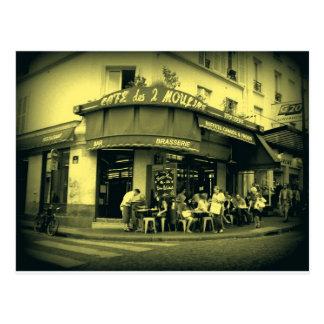Café Le Deux Moulain Cartes Postales